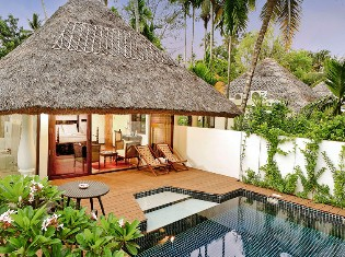 Pool Villa at Carnoustie Ayurveda and Wellness Resort