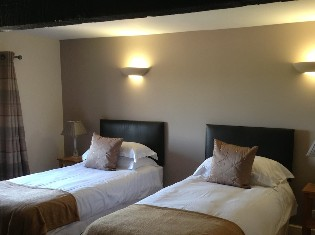 Shared Twin Room at Brooklands Country Guest House
