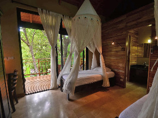 Queen Bungalow  at Bodhi Tree Yoga Resort