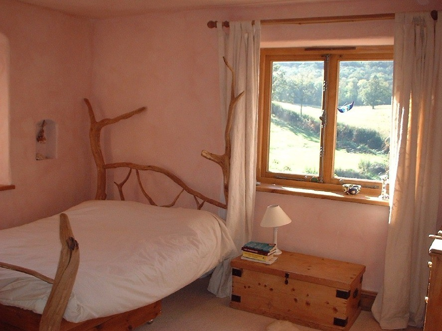 Private Room at Holycombe Holistic Retreat Centre