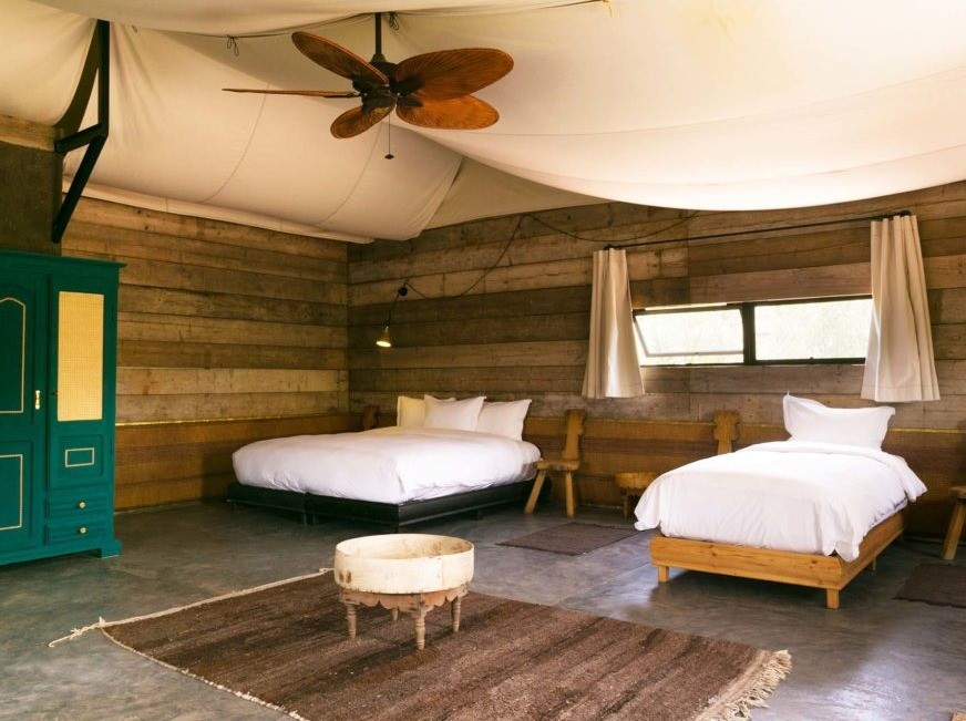 Shared Room at Desert Tented Camp Adounia