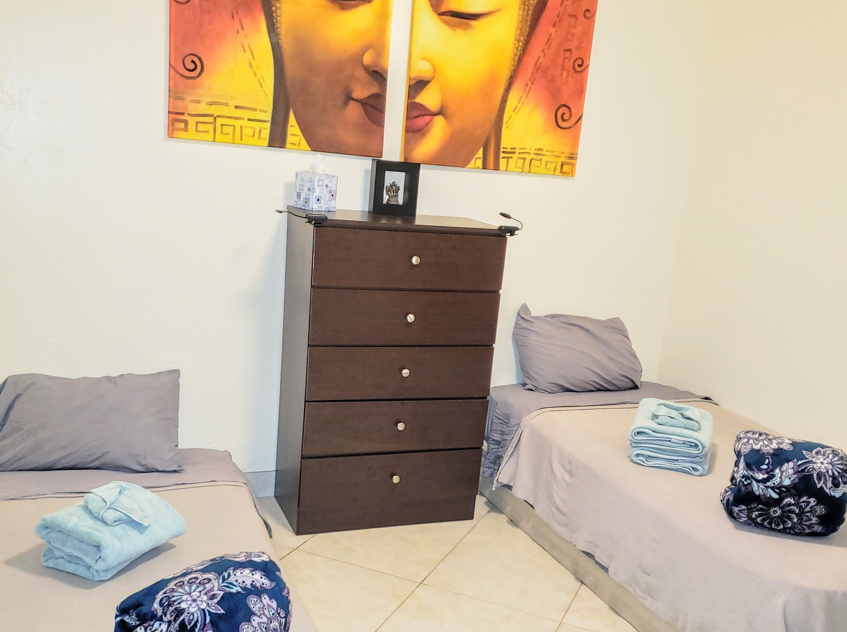 Shared Room at Zen Den Yoga School Wellness and Retreat Center