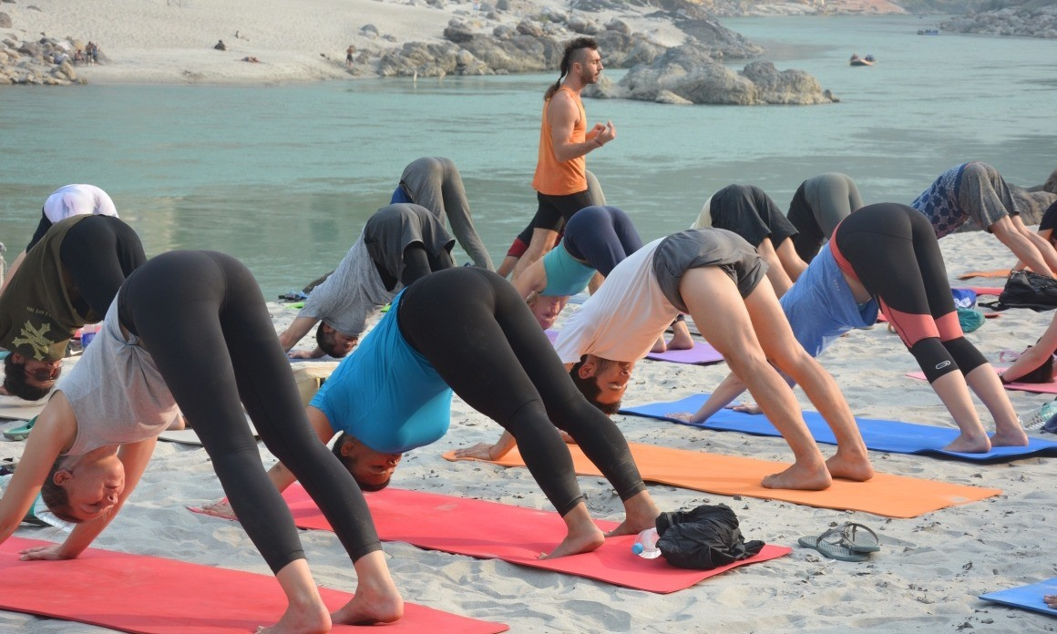 2 Month 500hr Multi Style Yoga Teacher Training in India, Rishikesh