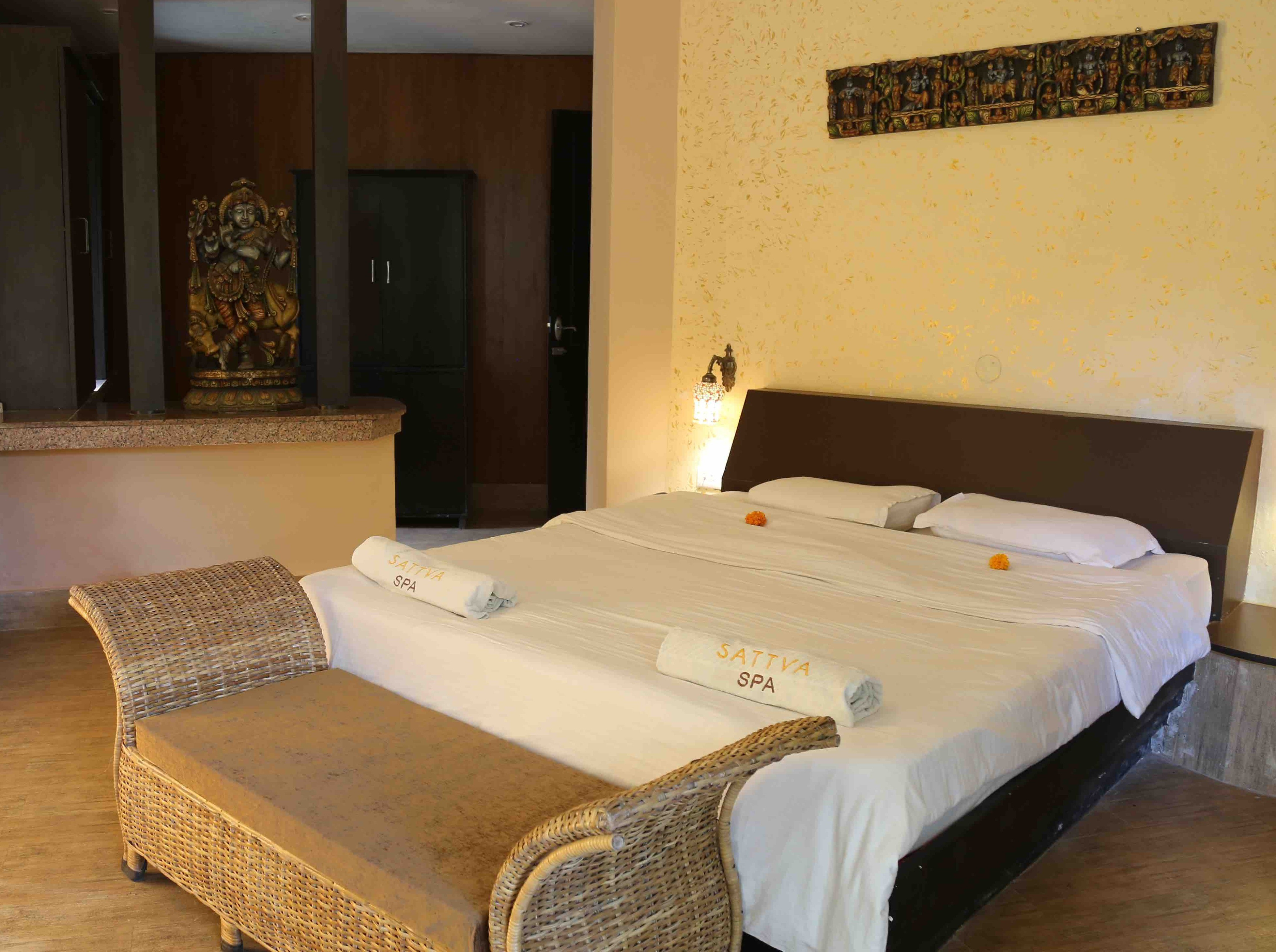 Deluxe Room at Sattva Yoga Academy